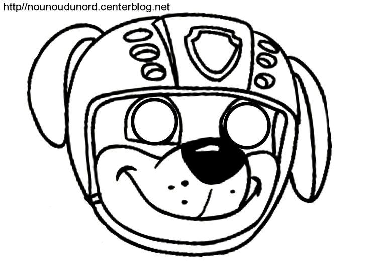 masque pat'patrouille ruben d'autres modèles à imprimer cliquez sur mon lien http://nounoudunord.centerblog.net/4209-masques-a-imprimer-classes-par-ordre-alphabetique