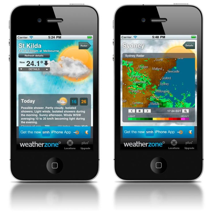 Weatherzone - Mobile Awards - Mobies
