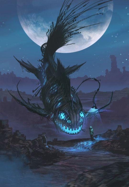 Carnívoro de Nebulosa - Pez Linterna