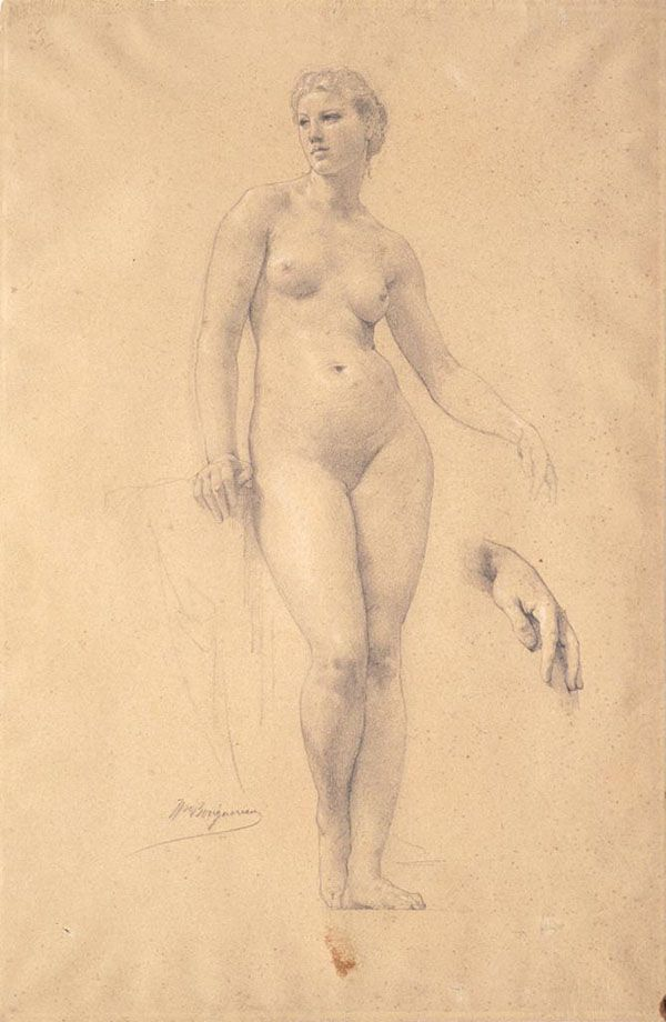 Artistic Anatomy - Bouguereau
