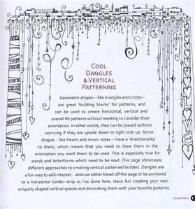 dangling zentangle