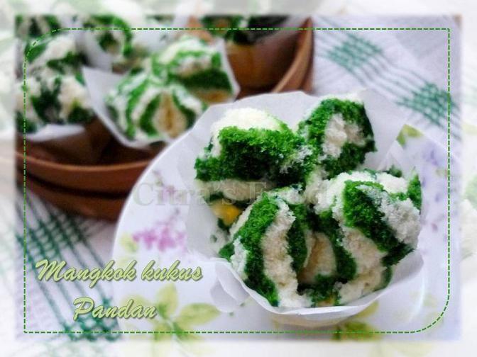 Indonesian Bolu kukus