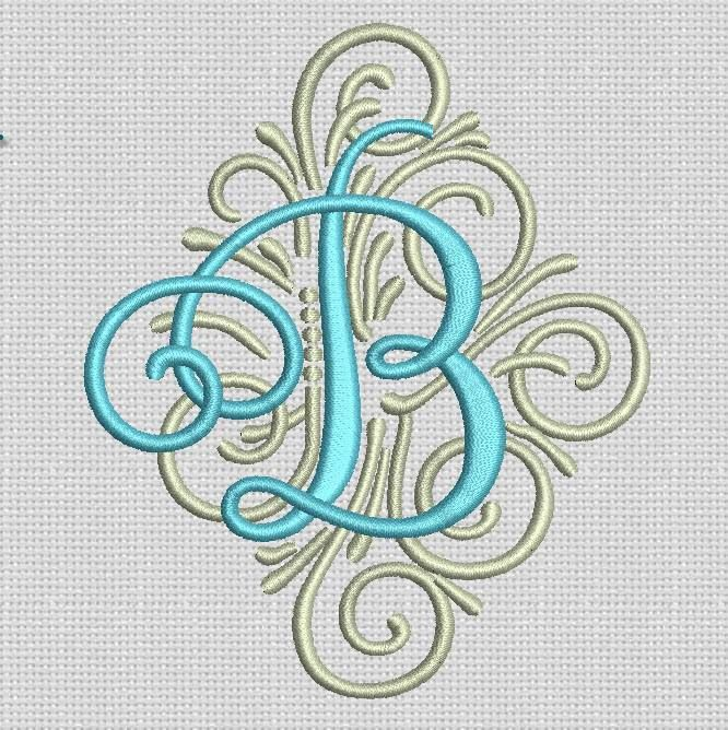 COMING SOON -- Adorn Ornamental Monogram #DesignsbyJuJu