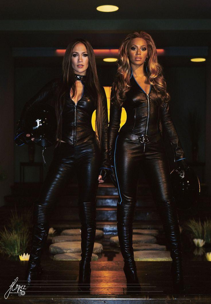 Jennifer Lopez & Beyonce. Fierce women on a mission of fitness & my inspiration!