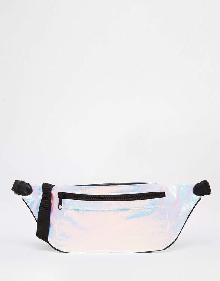 'Silver; Hologram Bum Bag' made by Esos  www.esos.com