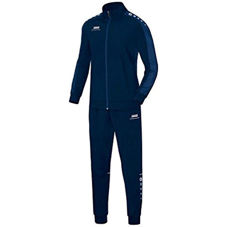 JAKO Kinder Polyesteranzug Striker 93169216 Marine/Nightblue 152 #streetwear #st…