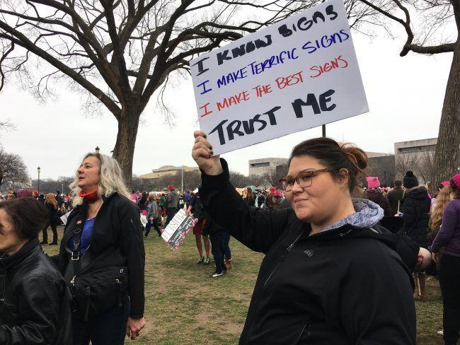 Women's March BEST HOMEMADE SIGNS   Mediaite