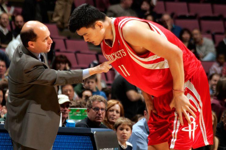 The Coaching Honor of a Lifetime -Jeff Van Gundy on Yao Ming