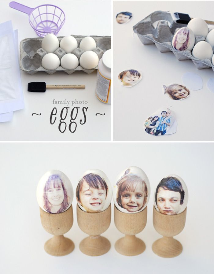 Some last minute Easter decoration ideas I found in the blogosphere ... Photo print easter eggs from a subtle revelry or Suprise eggs from the Paper Pony. And last for today but certainly not least ... Merilee from MerMag made...
