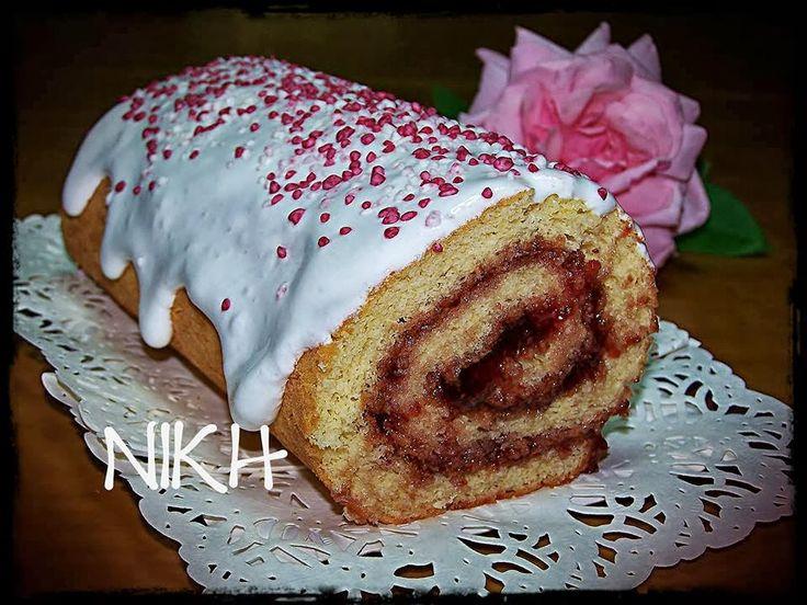 Olga's cuisine...και καλή σας όρεξη!!!: Ρολό με μαρμελάδα φράουλα