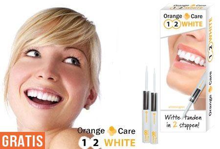 Whitening pennen nu GRATIS | Voor een stralend witte glimlach! #witte #tanden