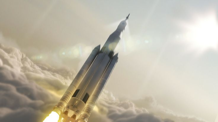NASA 2019 Space Launch System will represent the most powerful rocket ever built for deep space missions. Image released August 27, 2014.