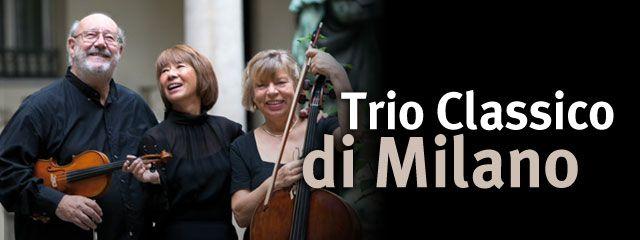 Sabato 8 Marzo 2014 Concerto: h. 21:00 Trio Classico di Milano  Massimo De Biasio: Violino Ina Schluter: Violoncello Keiko Hitomi Tomizawa: Pianoforte