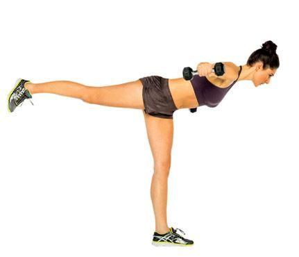 Build a Stronger Back   High Flyer: Works delts, erector spinae, glutes, hamstrings