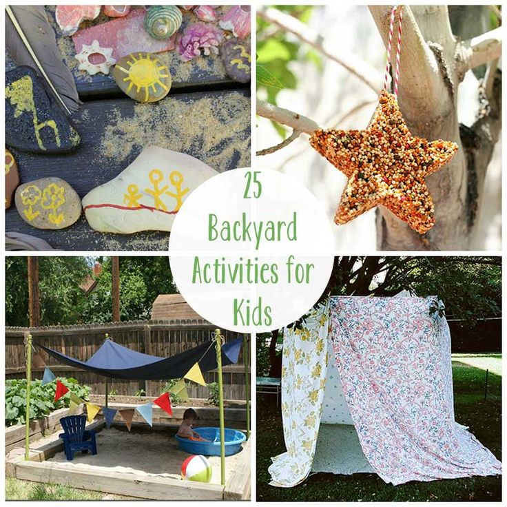 25 Summer Backyard Activities for Kids