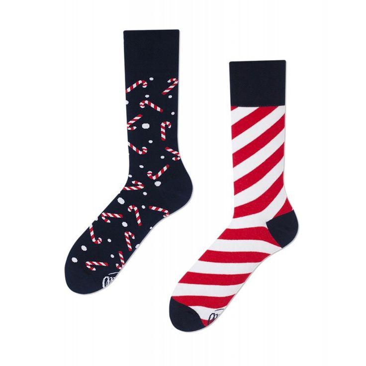 skarpetki / oddsocks Many Mornings Sweet X-Mass / świateczne skarpetki / christmas socks / polscy projektanci / polish designers / made in poland - elska.pl