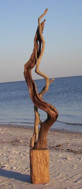driftwood sculpture - God's Art