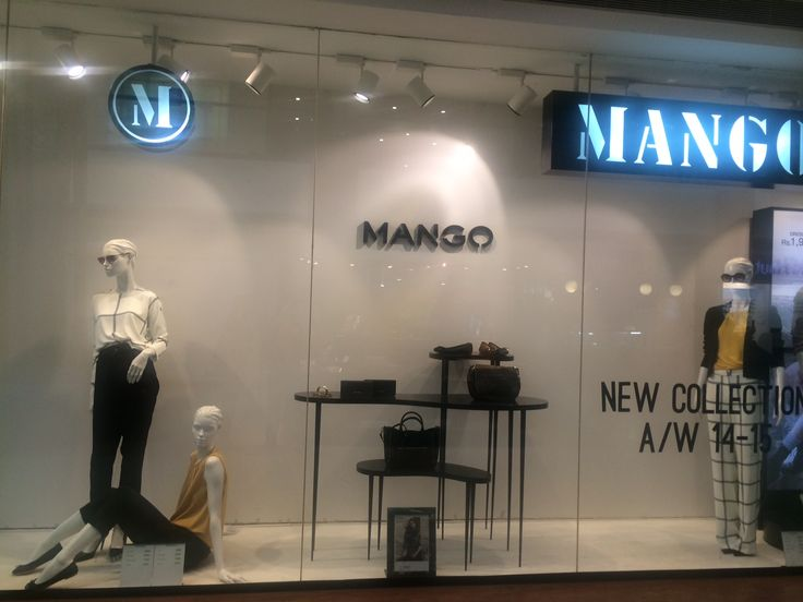 Mango; a/w collection,variety display,closed back window,not very interactive,plain,simple