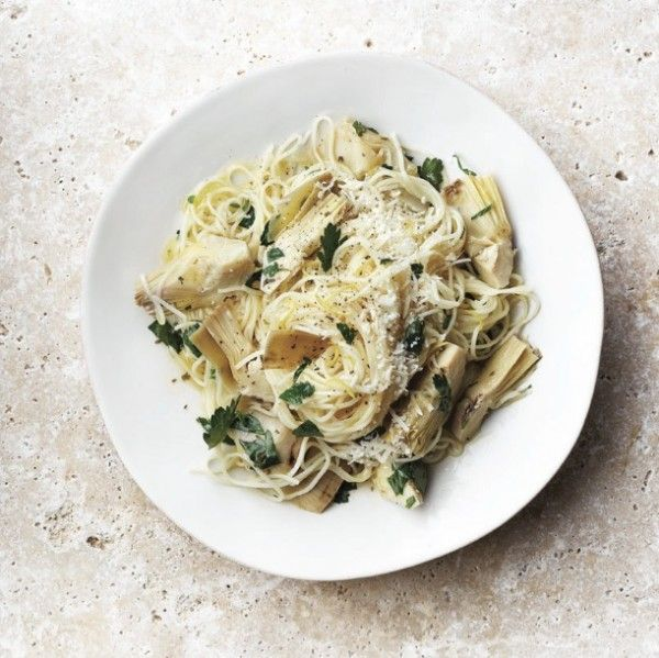 Artichoke and lemon pasta recipe - A simple summer pasta, ready in just 20 minutes. Pair it with a crisp and fruity white wine. Chatelaine.com