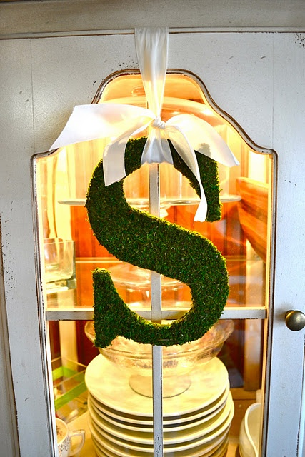 Monogram simplicity. I want to make this!: Moss Letters, Moss Monograms, Moss Covers, Pottery Barn Inspired, Front Doors, Wooden Letters, House, Pottery Barns Inspiration, First Lady