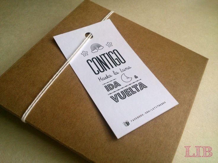 Si quieres tener un Detalle Único en todos tus Obsequios, Regalos, Botellas, Recordatorios... ¡Debes tener estos Hermosos Tags en tus Cajones! ¡Pequeños Detalles hechos por Gente Grande y Divertida! ¡Conoce más de nosotros! Packaging ~ Twitter: LetItBeBox ~ Facebook: LetItBeBox