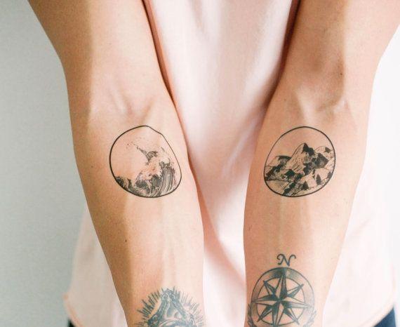 2 aard tijdelijke Tattoos - SmashTat