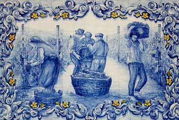 Azulejos  Tavira Portugal