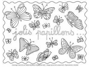 Mercredi Coloriage # 10, Jolis papillons... • Hellocoton.fr