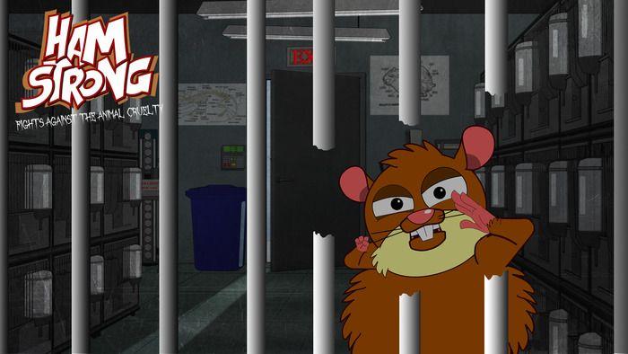 Hamstrong : It's Prison Break meets Madagascar