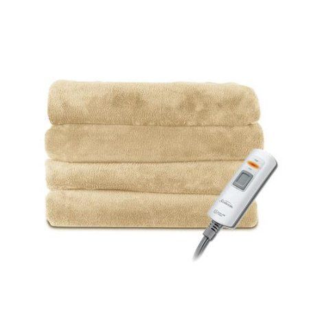 7 feet long!!!! Sunbeam 2 Person Microplush X-Large Electric Heated Throw Blanket Color Choices