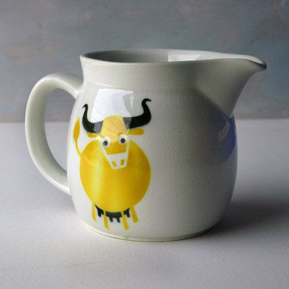 Arabia Cow Pitcher on Etsy, $63.00
