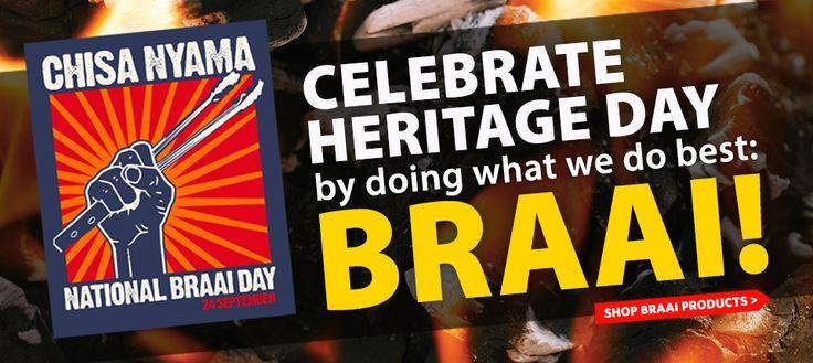 Get all your Braai Day essentials at Cape Union Mart!!  www.capeunionmart.co.za
