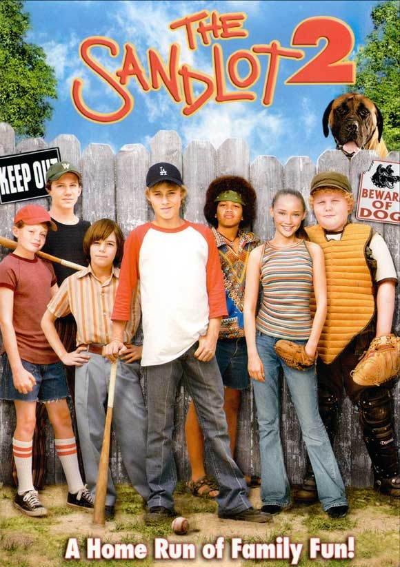 the sandlot 2 this is the best one! I love that Fingers(red shirt) and David (red ans white shirt) are together again in the show switched at birth as Emment and Noah.