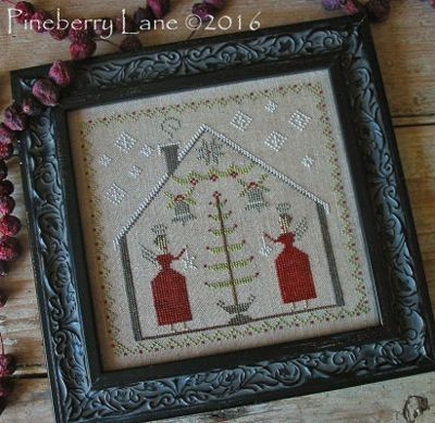 o tannenbaum by pineberry lane via the stitch and frame shop