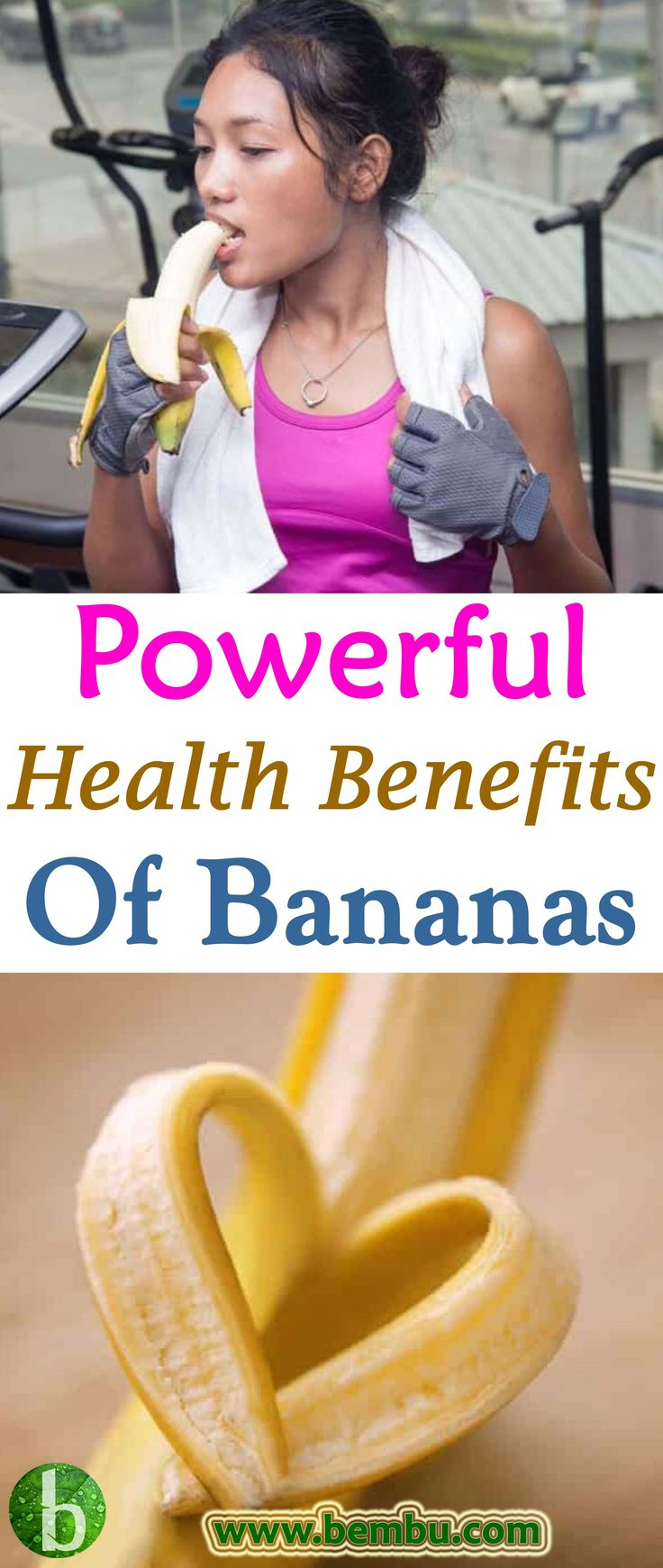 Check out the top 10 powerful health benefits of bananas... Health Tips │ Health Ideas │Healthy Food │Health │Food │Desserts │Low Carb │Weight Loss │Diet │Fitness #Health #Ideas #Tips #Vitamin #Healthyfood #Food #Desserts #Lowcarb #Weightloss #Diet #Fitness