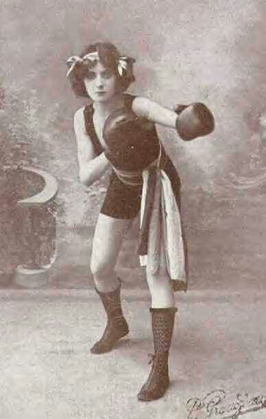 Female boxer 1911