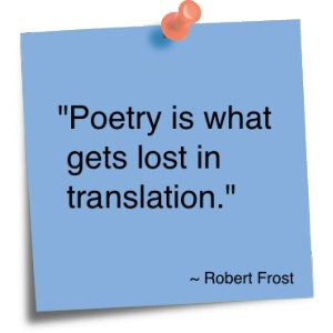robert frost essays poetry