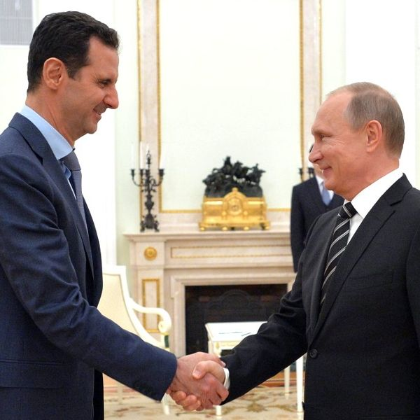 "Syrian President Bashar al-Assad said on Sunday) that the military achievements in Eastern Ghouta ( Damascus Suburb) occurred during truce periods. In response, the White House said Russia is ""[killing] civilians under the false auspices of counterterrorism operations.""  {WAR/DAMASCUS DESTRUCTION - Isaiah 17:1-14: Jeremiah 49:23-27}"