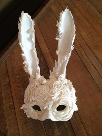 UNDERCOVER ショー用マスク。