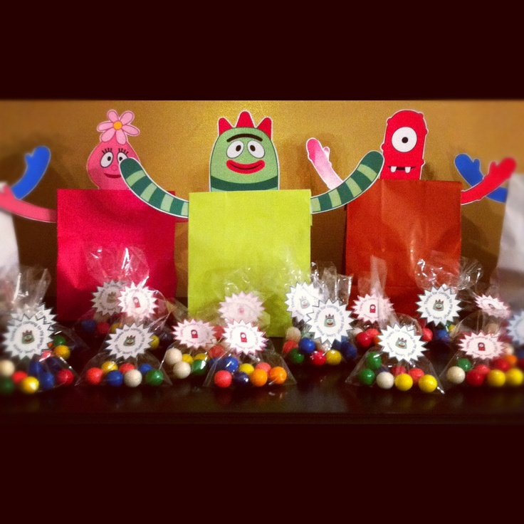 Top 25 ideas about Party: Gabba Crafts, Favors, Fun ...