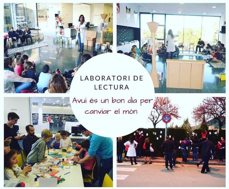 Aquesta setmana des de la biblio usted portem Laboratoris de Lectura #biblioteca #cuento #leer #lectura #actividad #infantil #laboratorio #niños #diy