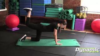 Donkey Kicks Exercise & Workout - Do it Properly - Tucson Personal Trainer - YouTube