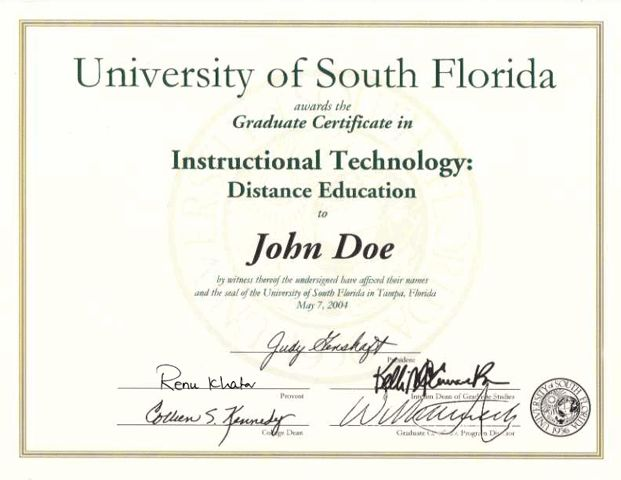 Instructional Technology Program: Programs and Curricula ...