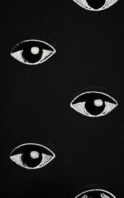 kenzo embroidery broderie oeil yeux eye eyes pattern ocular