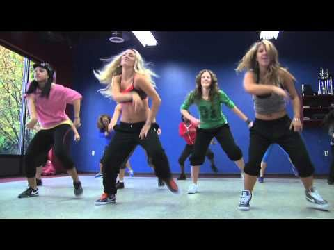 'Look at me now' Chris Brown DANCE PARTY HUSTLE - easy dance moves with slower parts for rest.
