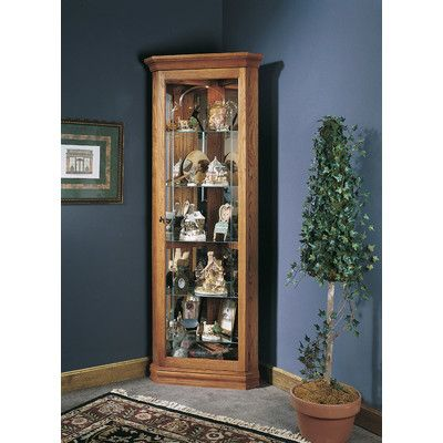 Fresh Randalstown Corner Curio Cabinet
