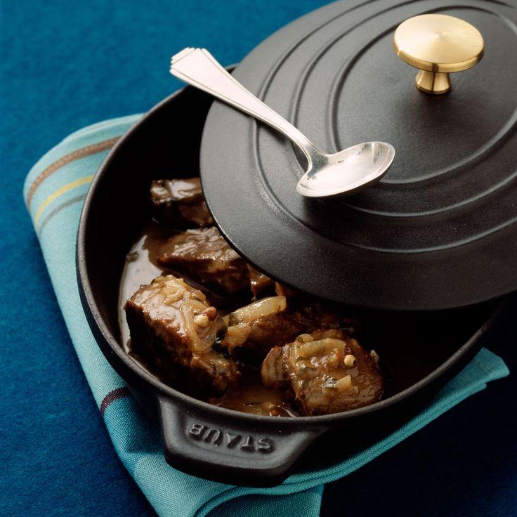 Découvrez la recette Paleron de boeuf braisé au cidre sur cuisineactuelle.fr.