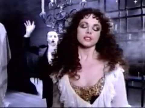 Sarah Brightman & Michael Crawford - The Music Of The Night (Music Video 1986)