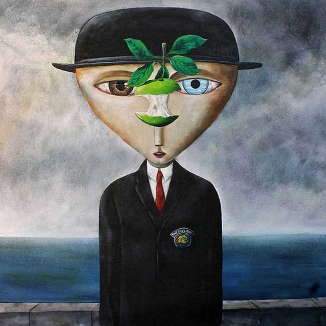 Work by #PauloGovea #consumer #society #critical #look #engaged #art #painting #illustration #graffiti #Zupi