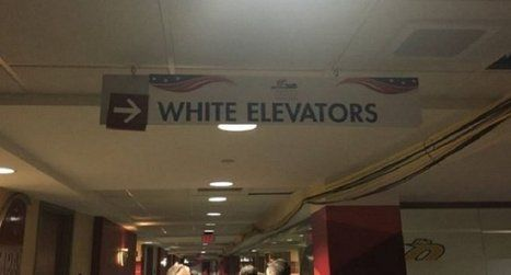 Republican National Convention staffers scrambling to remove Jim Crow-like 'white elevators' signs | THE OTHER EYEWITTNESS - news | Scoop.it
